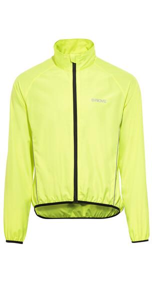 ProViz Windproof Miehet takki , keltainen